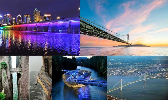 معروف ترین و محبوب ترین پل های جهان