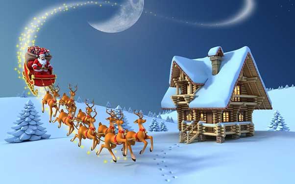 بابا نوئل در کریسمس