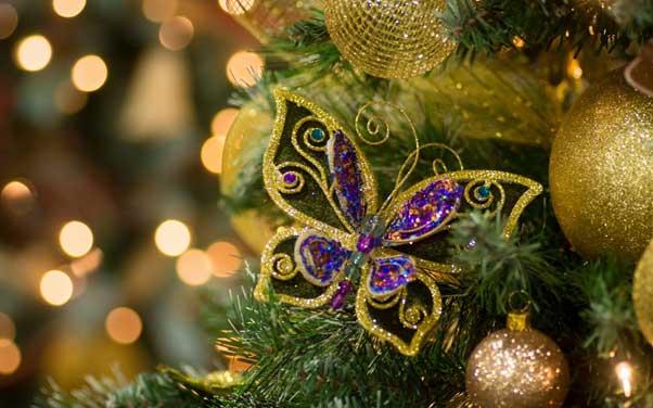 پروانه تزیینی کریسمس