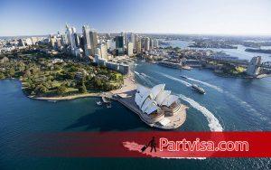 استرالیا یکی از تورهای خارجی در فصل پاییز