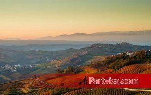 ایتالیا یکی از تورهای خارجی در فصل پاییز