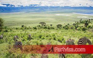 تانزانیا یکی از تورهای خارجی در فصل پاییز