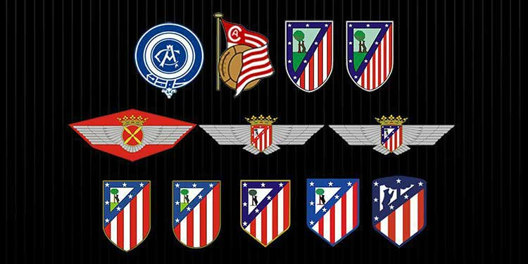 تغییر لوگوی اتلتیکو مادرید اسپانیا