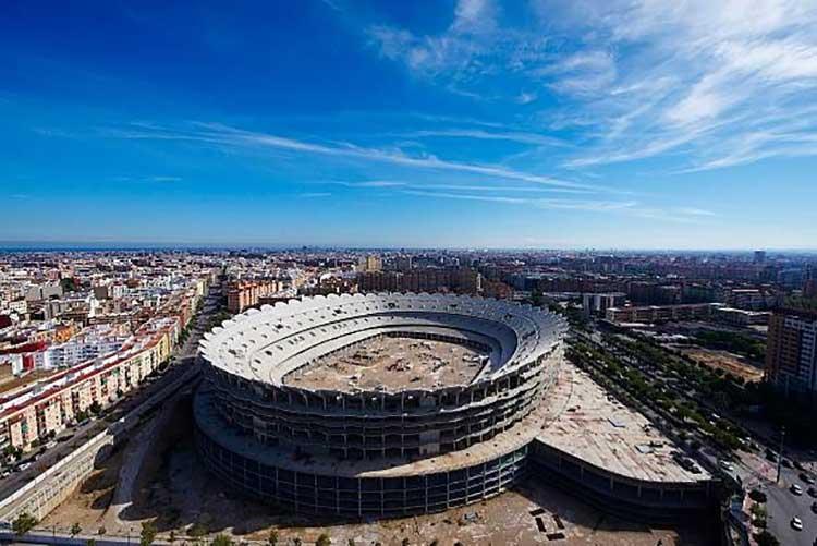 آینده استادیوم بزرگ اسپانیا مستایا