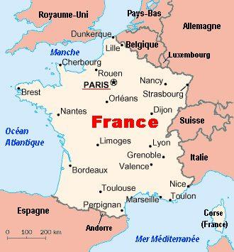 جغرافیای طبیعی کشور فرانسه